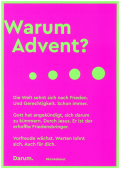Postkarten Motiv Advent