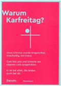 Postkarten Motiv Karfreitag